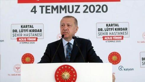 أردوغان: عازمون على جعل تركيا مركزا علاجيا للقارات الثلاث