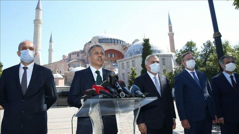 والي إسطنبول: الاستعدادات متواصلة لإقامة أول صلاة جمعة في أيا صوفيا غداً