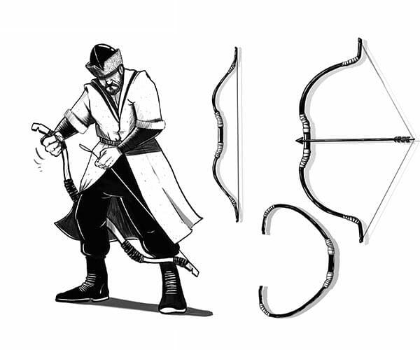 القوس .. سلاح الأتراك القديم