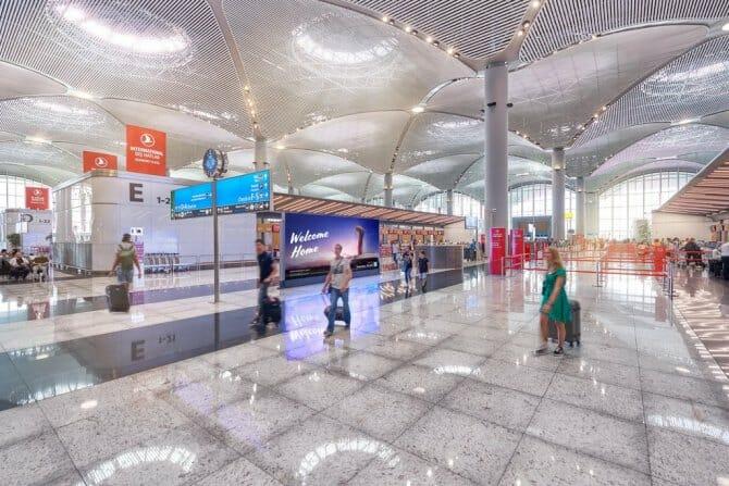 """مطار إسطنبول الجديد يحوز وثيقة """"صفر مخلفات"""""""