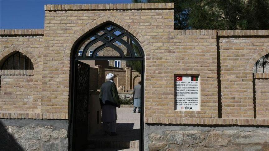 """thumbs b c 2117ea1438f977af64579d18a10a36d6 - """"تيكا"""" التركية ترمم معتكفا تاريخيا غربي أفغانستان"""