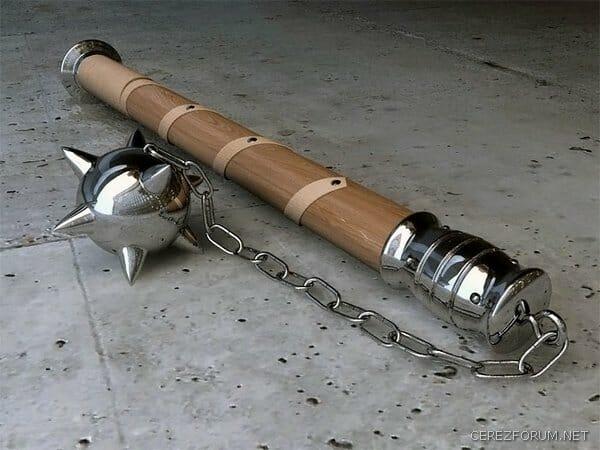 gurz silah03 - الأسلحة المستعملة في الجيش العثماني