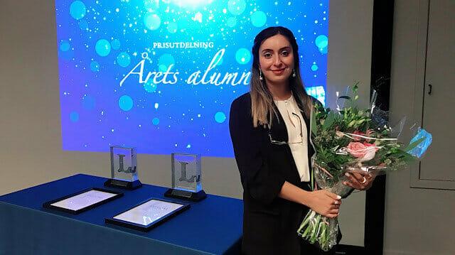"""السويد.. تركية تحصل على """"جائزة فخرية"""" من جامعة """"لوليا"""""""