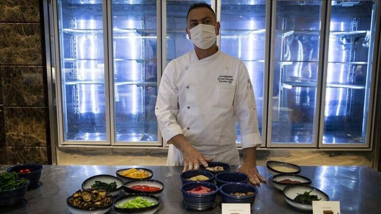 الشيف الإيطالي تيراتشيانو: المطبخ التركي يتجه للعالمية