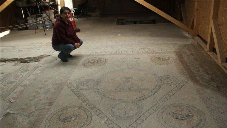 بأيادٍ تركية.. أعمال ترميم لاستنطاق لوحة فسيفساء بيزنطية