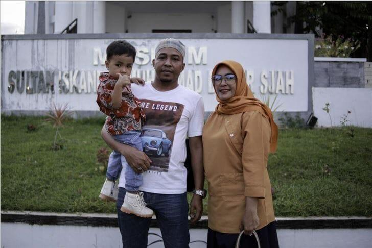 """أسرة إندونيسية تطلق على طفلها اسم """"أردوغان"""""""