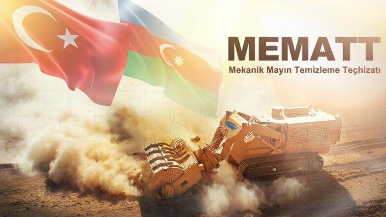 شركة صناعات دفاعية تركية تزود أذربيجان بمعدات ميكانيكية لإزالة الألغام
