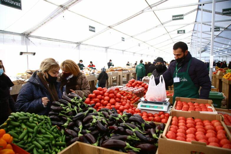 """""""تيكا"""" التركية تنشئ مركزا لبيع محاصيل الريف في العاصمة الأذربيجانية"""