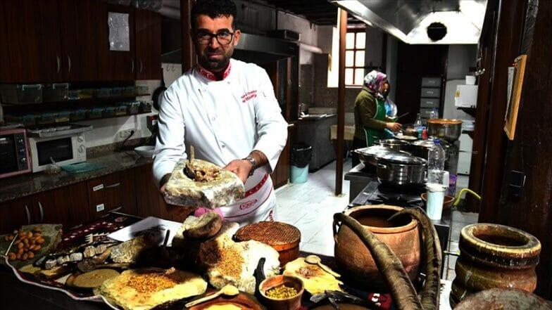في قونية التركية.. أطباق شهية من العصر الحجري