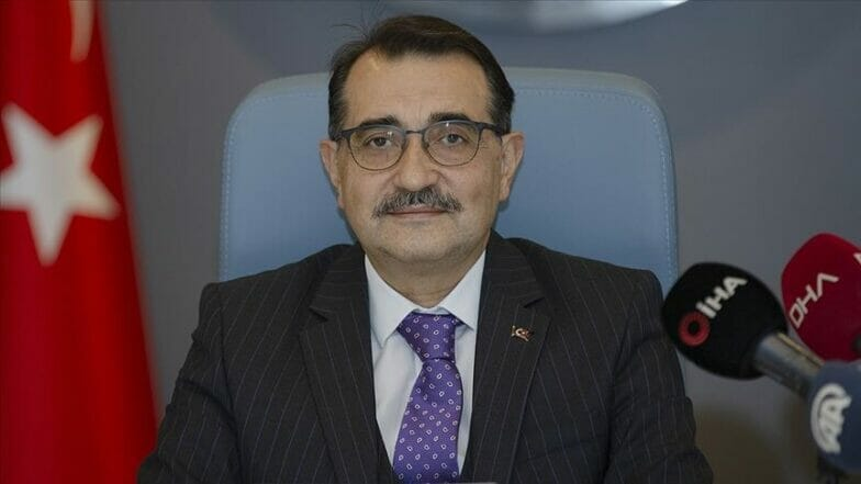 وزير الطاقة التركي: اكتشاف الغاز من أهم التطورات خلال 2020