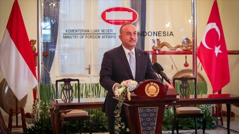 تشاووش أوغلو: تركيا وإندونيسيا تمتلكان إمكانات لعلاقات اقتصادية كبيرة