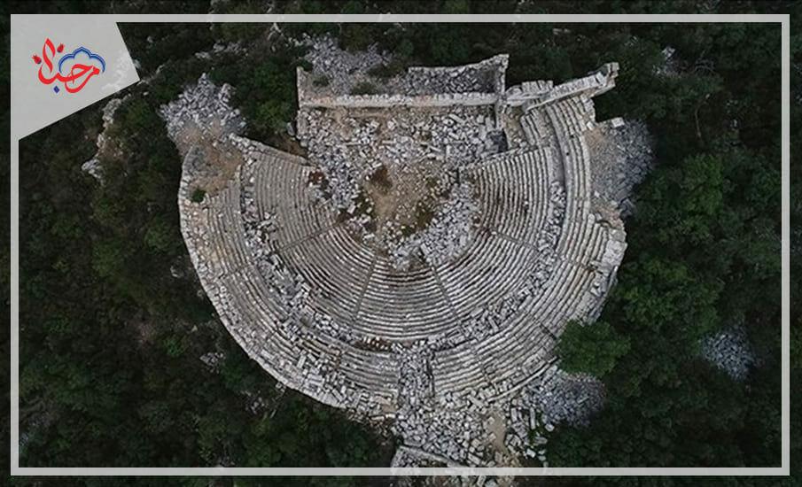 6 1 - بعض من المعالم الأثرية الهامة في تركيا