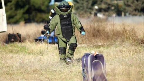 خبراء المتفجرات يخاطرون بحياتهم لضمان سلامة المواطنين
