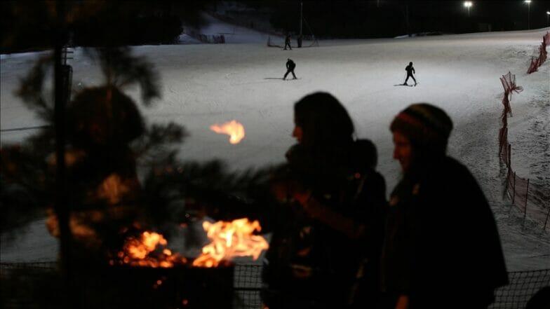"""يسعى للعالمية.. مركز """"بالاندوكان"""" التركي رائد التزلج الليلي"""
