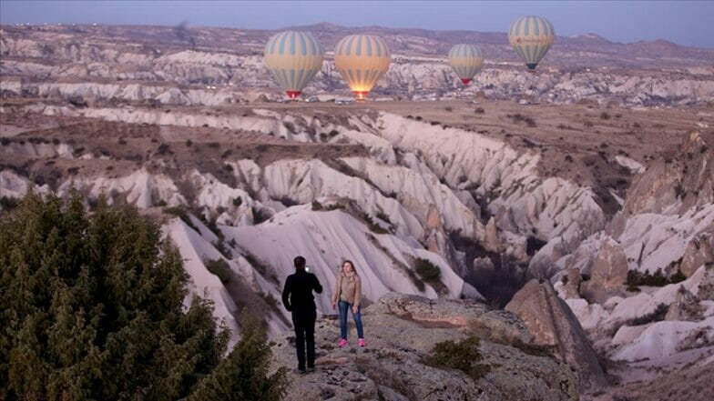 """""""كبادوكيا"""" التركية تستقبل قرابة مليون زائر في 2020"""