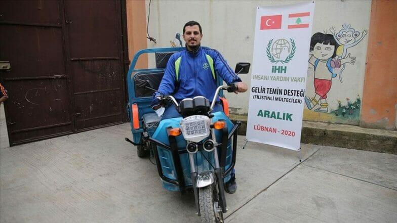 """""""الإغاثة التركية"""" تدعم 22 أسرة فلسطينية في لبنان"""