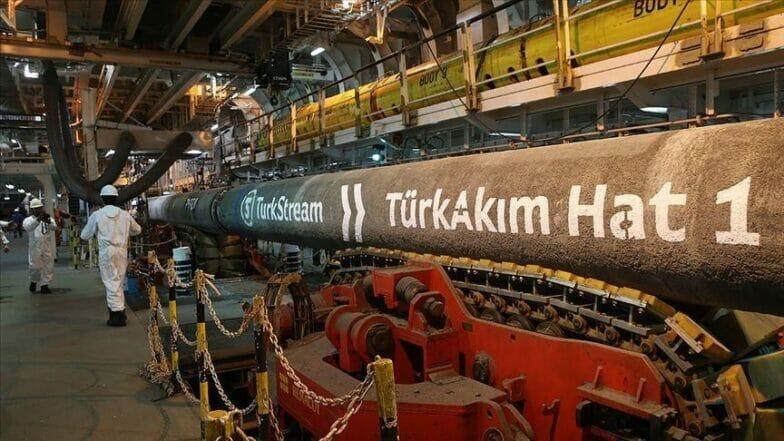 """""""السيل التركي"""" 2020.. نقل 5.8 مليارات متر مكعب غاز لأوروبا"""