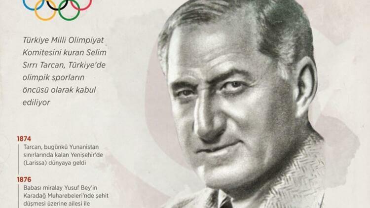 """""""سليم سيرري تارجان"""" هو واحد من أكبر الأسماء المؤسسين للرياضة التركية"""