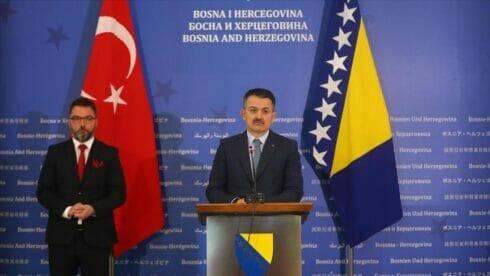 اتفاقية التجارة الحرة مع البوسنة والهرسك ستطور العلاقات
