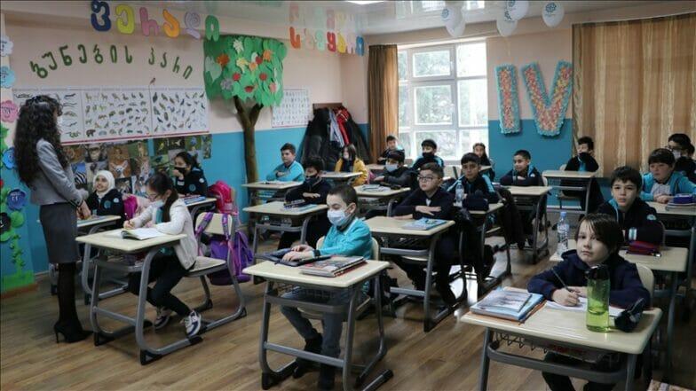 """مدارس """"المعارف التركي"""" بجورجيا تستأنف التعليم وجهاً لوجه"""