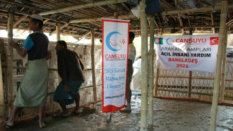 جمعية تركية تبني بيوتا للاجئي الروهنغيا في بنغلاديش