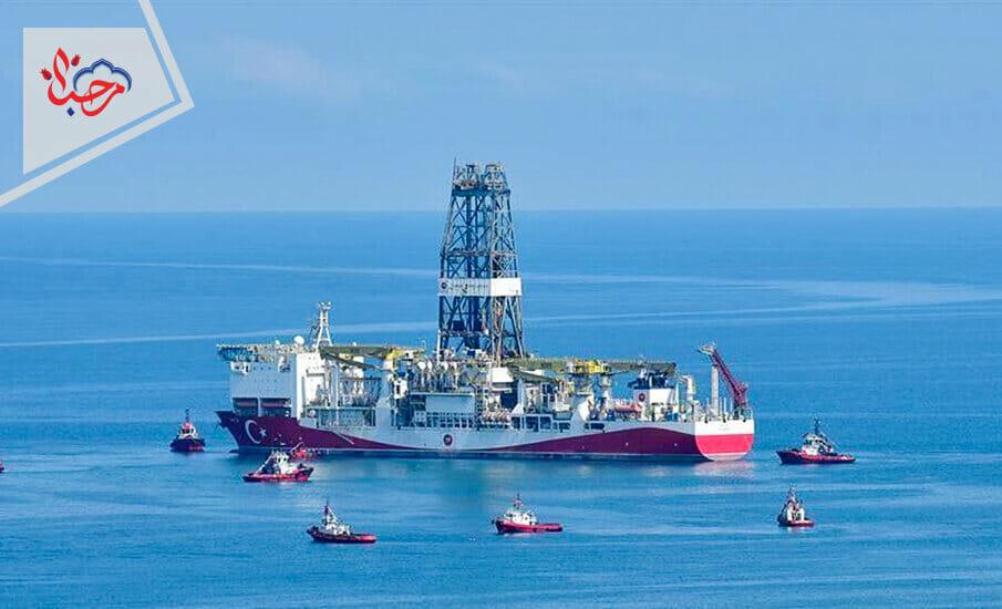 اكتشاف حقول الغاز الطبيعية
