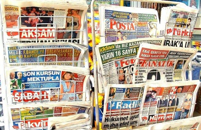 الصحافة التركية