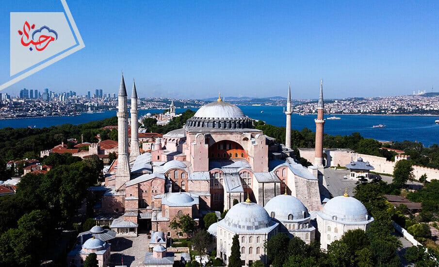 صوفيا 1 - المعارضة التركية حرب ضروس على أردوغان من آيا صوفيا إلى قناة إسطنبول