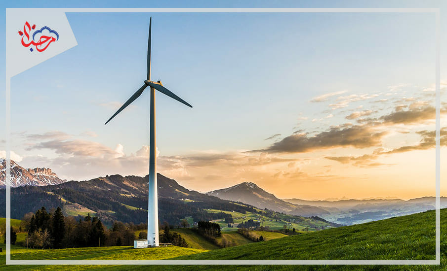 هوائية في حقل زراعي - 5 حقائق عن طاقة الرياح في تركيا