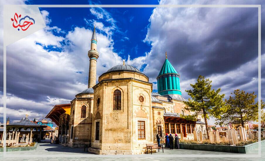 مسجد قونية 1 - قونية التركية مقصد سياحي وقوة اقتصادية متصاعدة