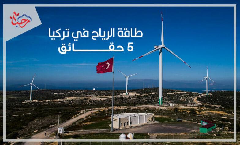 5 حقائق عن طاقة الرياح في تركيا