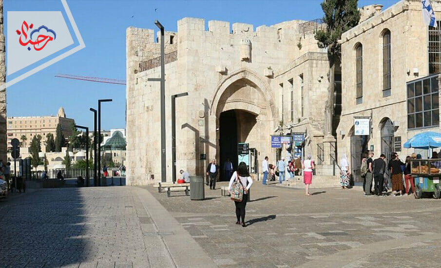 Jaffa Gate in Jerusalem 1 - أسوار ومعالم القدس العتيقة تستذكر تاريخ السلطان سليمان القانوني