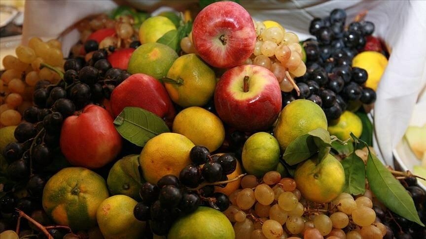 الخضروات والفواكه الطازجة التركية