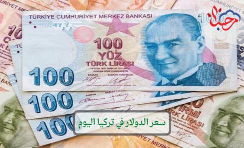 سعر الدولار في تركيا مقابل الليرة التركية اليوم الأربعاء 28-7-2021
