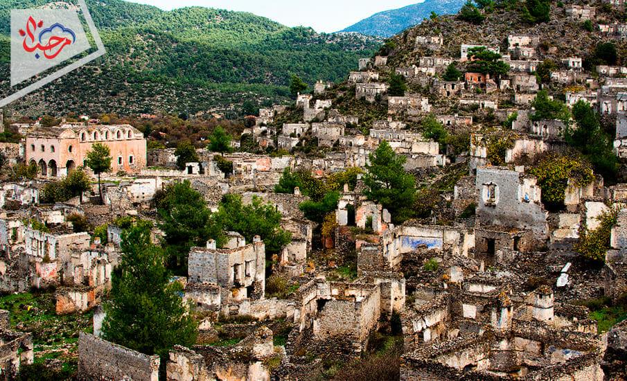 Kayakoy - أجمل القرى التركية السياحية.. 5 قرى تجمع البحر والجبل والشجر في إطلالاتها