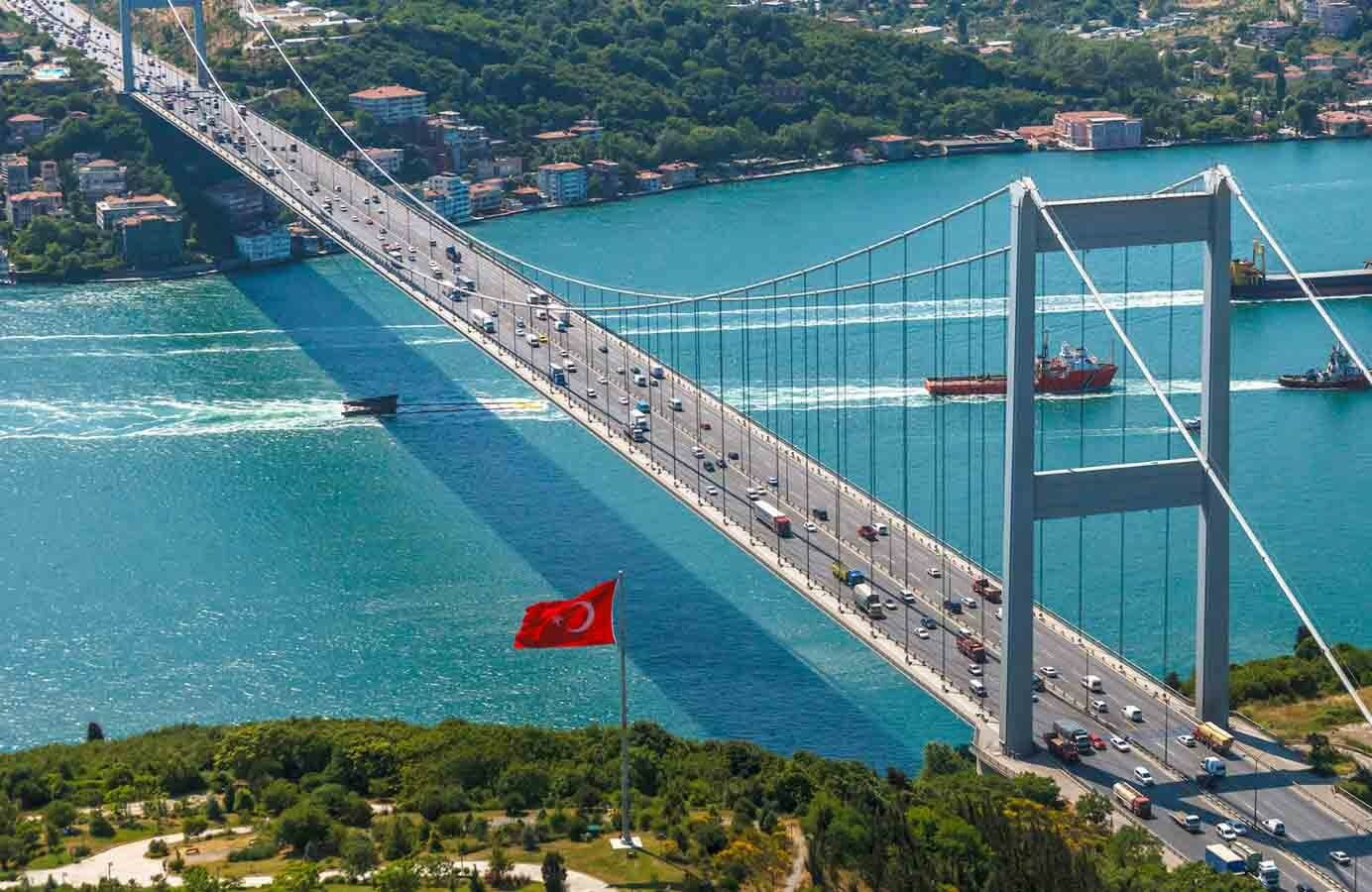 الجسور والطرق السريعة في إسطنبول مجانية خلال أيام عطلة عيد الأضحى