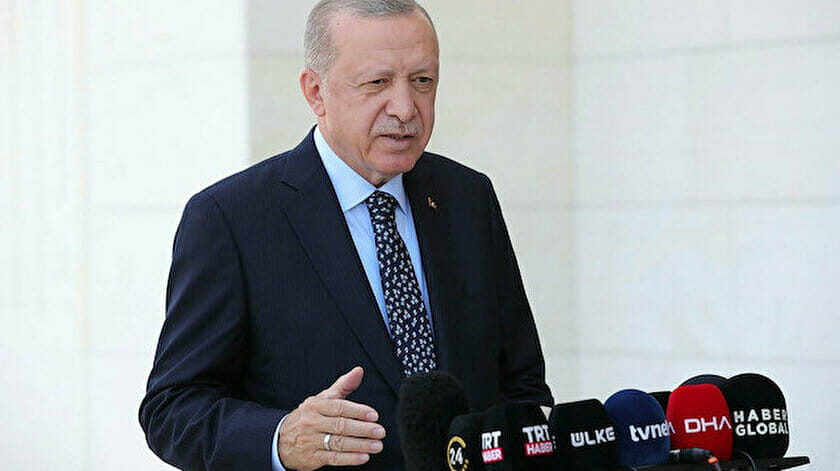 آخر تصريحات أردوغان حول حرائق الغابات في تركيا