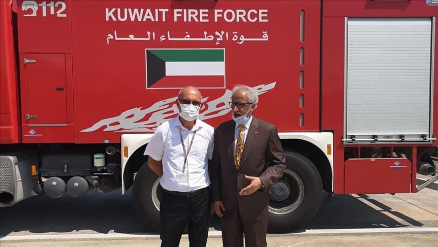 الكويت ترسل فريق لدعم جهود إخماد حرائق الغابات في تركيا