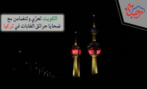 الكويت تعزّي وتتضامن مع ضحايا حرائق الغابات في تركيا