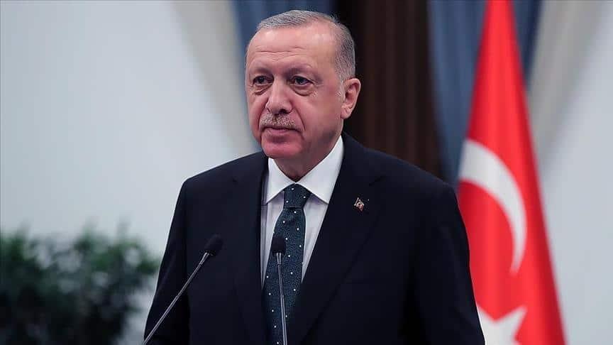 تصريحات أردوغان اليوم الجمعة 13-08-2021