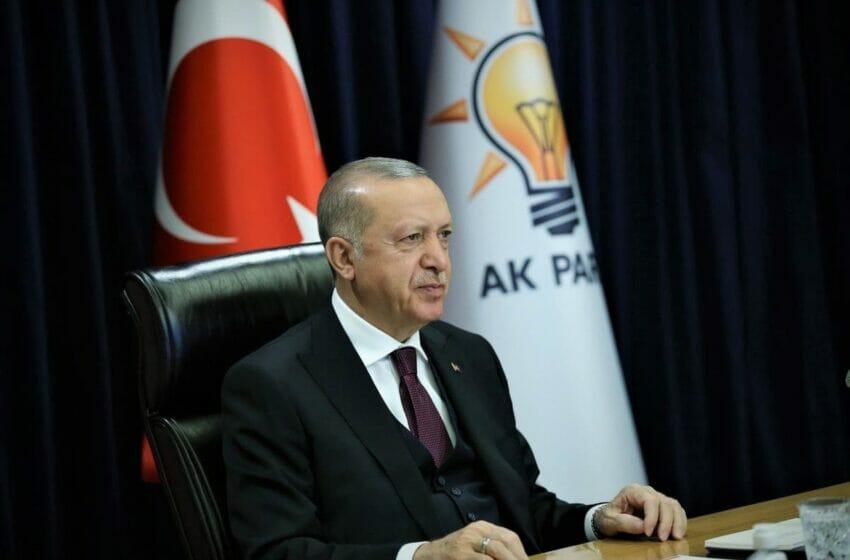 أردوغان: حكومات حزب العدالة والتنمية أبقت تركيا على المسار الصحيح