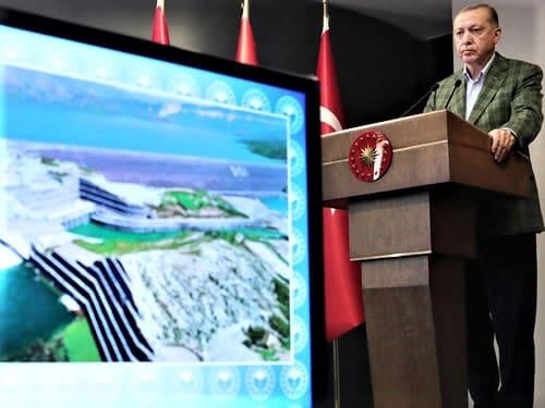 أردوغان: الطاقة الكهرومائية في تركيا نقلت البلاد إلى بعد آخر