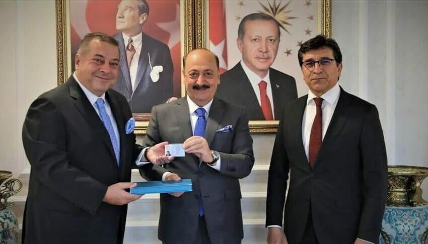 أول بطاقة تركواز في تركيا من صاحبها؟ 2021