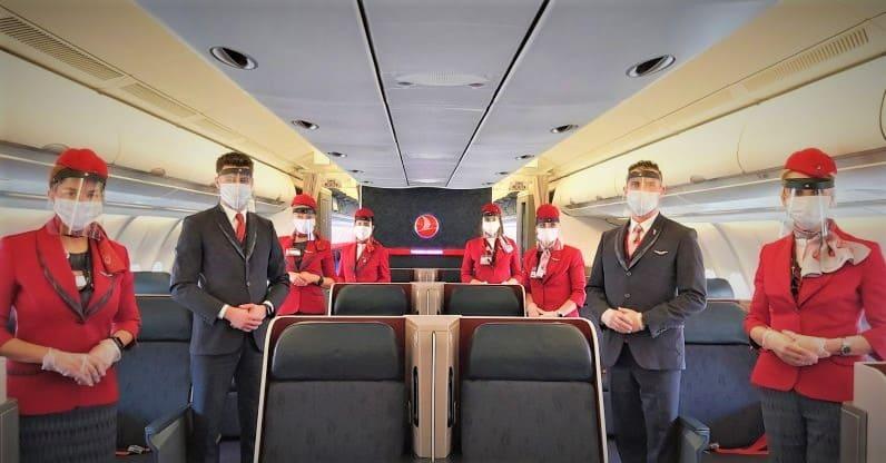 الخطوط التركية الجوية ضمن أفضل 10 عالمياً 2021
