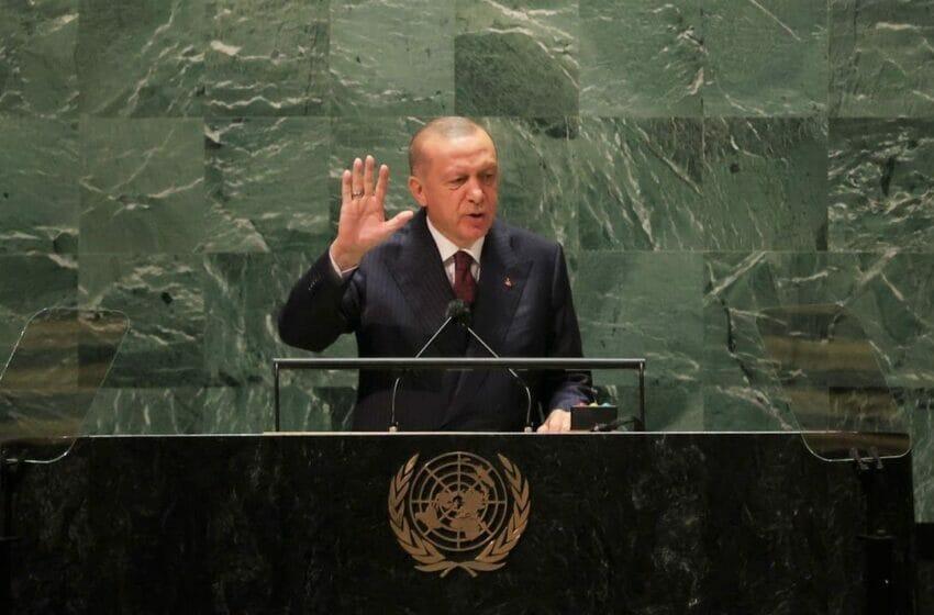 العالم أكبر من خمسة - أبرز تصريحات أردوغان في الأمم المتحدة