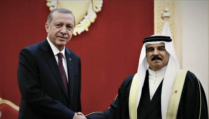 العلاقات التركية البحرينية تشهد نمو وتطور 2021