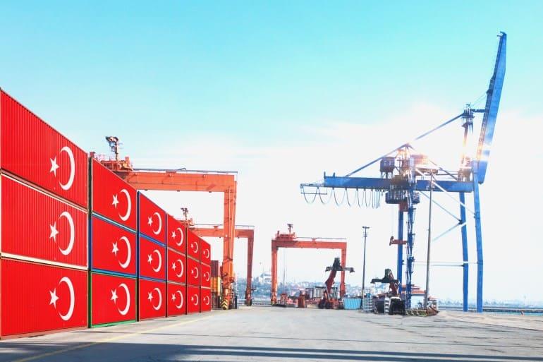 رفع قيمة الصادرات التركية إلى مستويات قياسية نهاية 2021