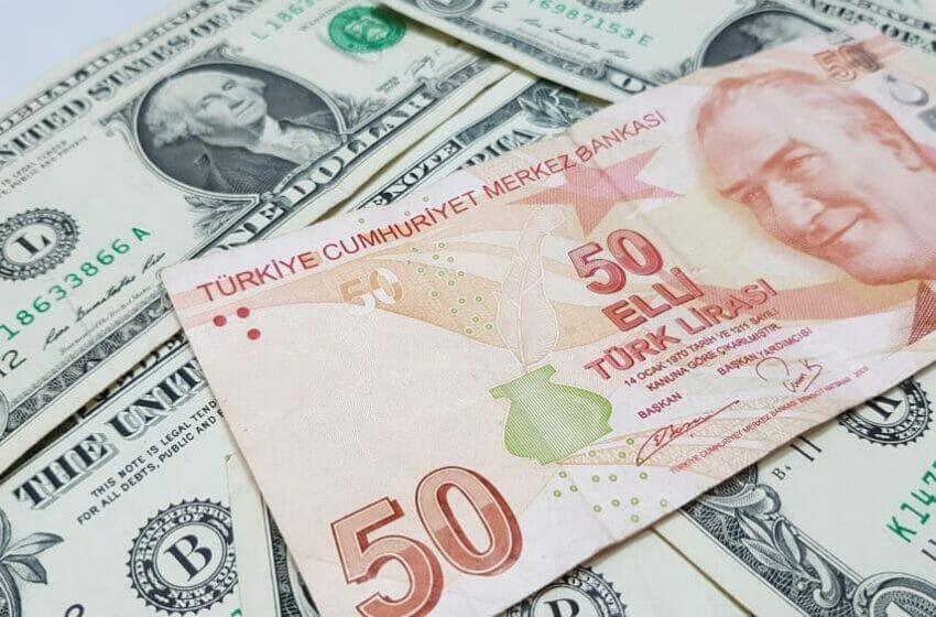 سعر الدولار في تركيا اليوم مقابل الليرة التركية الثلاثاء 21-9-2021