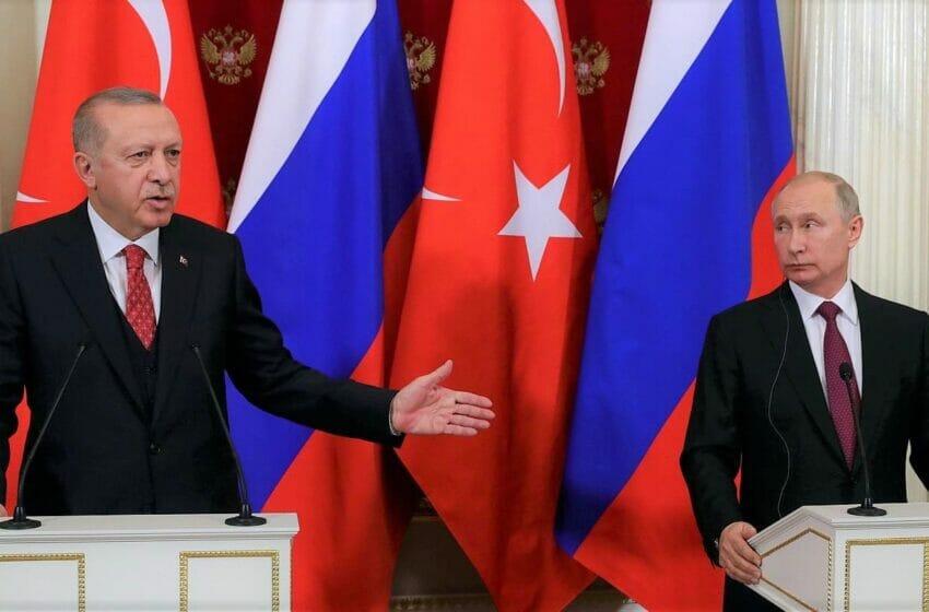 قبل لقائه بوتن أردوغان يعلنها بوضوح النظام السوري يشكل تهديد جنوب تركيا