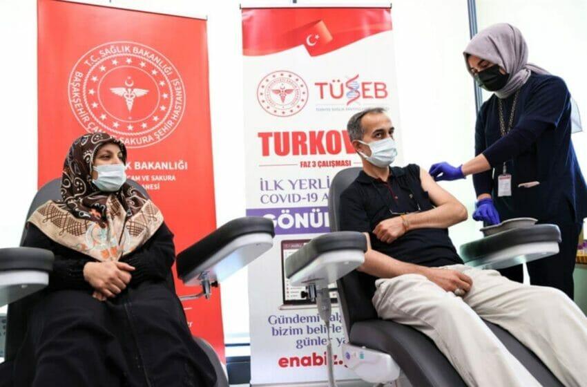اللقاح التركي توركوفاك في مرحلة التقدم للموافقة على استخدام 2021